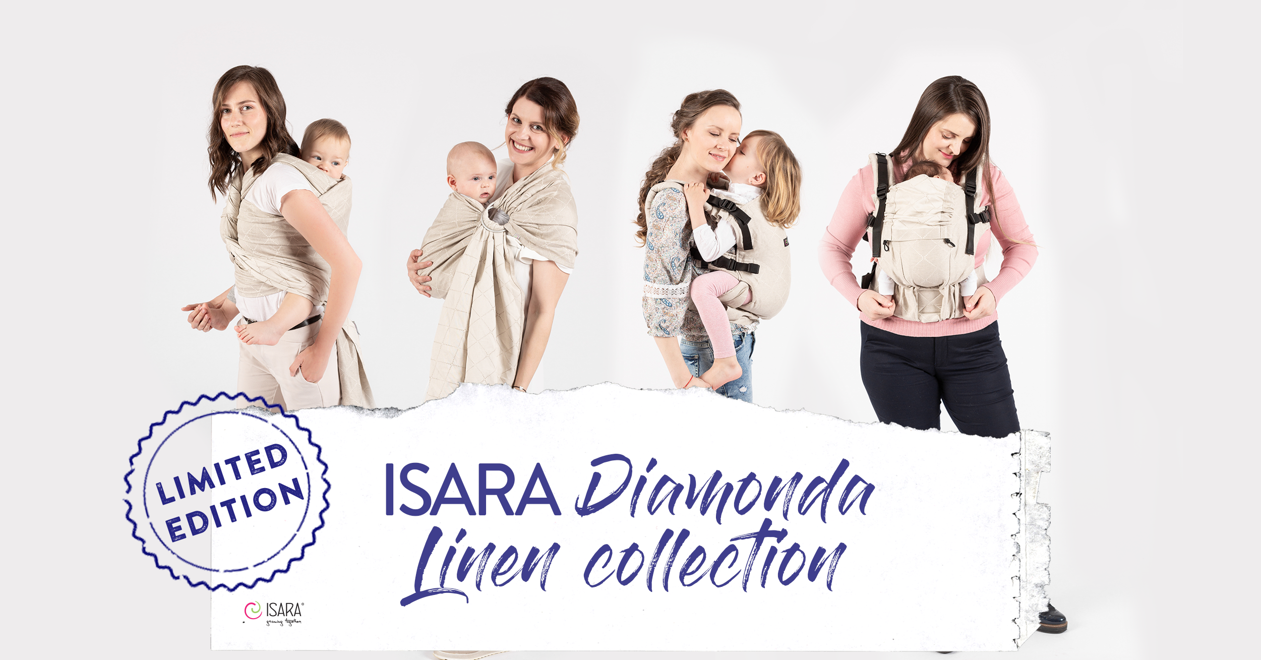ISARA ⋆ Tartaruguita Isara The one Ring Sling Mochila Porta
